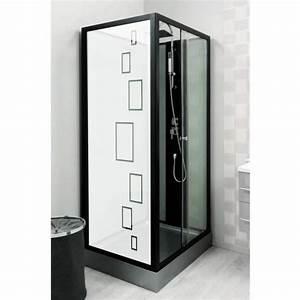 Vitre Pour Douche : film aspect verre d poli pour vitre de douche design 1 ~ Premium-room.com Idées de Décoration