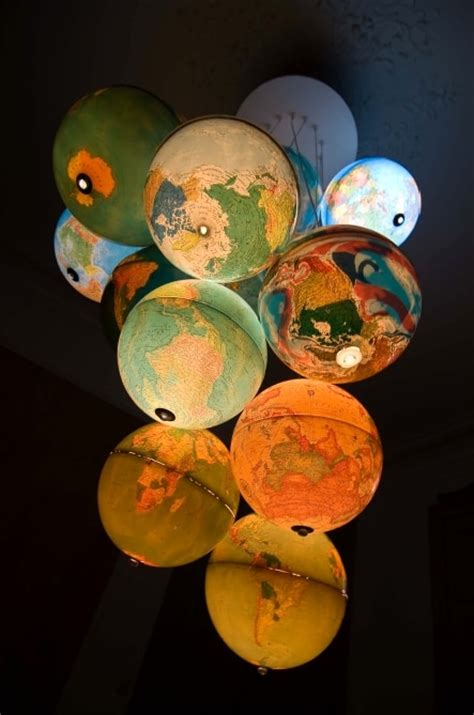 table globe chandelier finest use of light globes