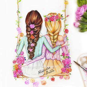 afbeelh dingsresultaat voor bff meisjes tekenen meiden