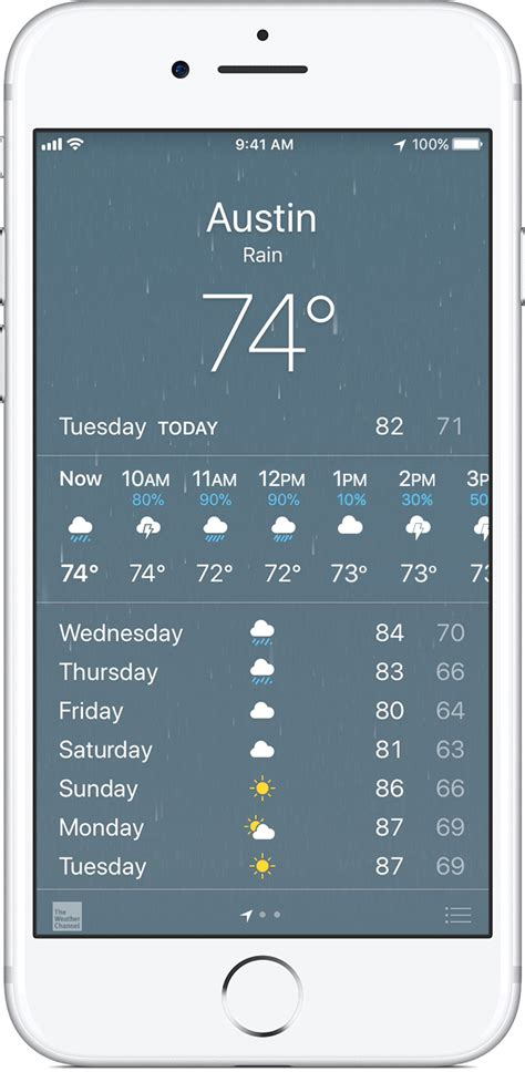 weather icons on iphone weather app iphone how to make the iphone weather app