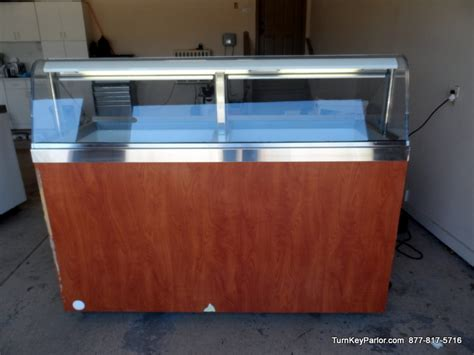 used ice cream dipping cabinet used masterbilt masterbuilt dipping cabinet