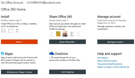 Office 365 Account by Sign In To My Office Account To Install Office Or Manage