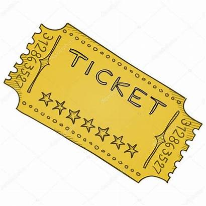 Ticket Template Admission Cinema Vector Depositphotos