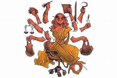 Durga Illustration Workplace Essay Livemint Jayachandran Mint