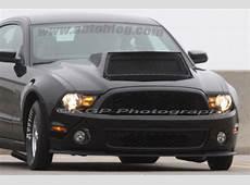 Ford Mustang dragster mule caught brandishing gargantuan