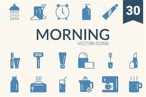 morning routine  images business card logo