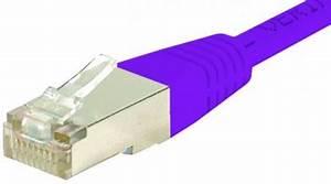 Achat Cable Ethernet 20m : c ble rj45 cat6 s ftp violet 20m achat vente sur ~ Edinachiropracticcenter.com Idées de Décoration