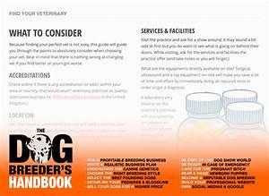 The Dog Breeder U0026 39 S Handbook  U2014 The Definitive Guide