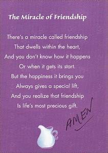 The miracle of friendship: There's a miracle called ...