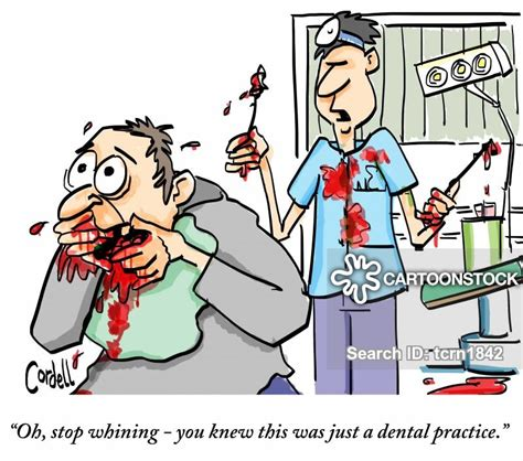 dental phobia cartoons and comics funny pictures from cartoonstock