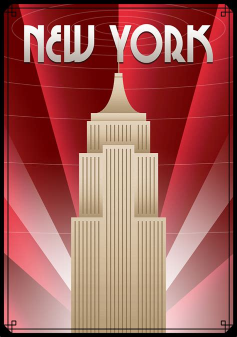 new york deco tour new york poster by ollywood on deviantart