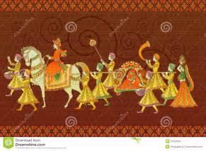 Traditional Indian Wedding Stock Photo