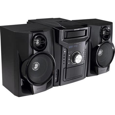 sharp  watt     fi audio stereo sound system