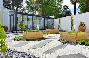 Fabriquer Grande Jardiniere Beton : jardini re en bois m tal b ton ou terre cuite laquelle choisir ~ Melissatoandfro.com Idées de Décoration