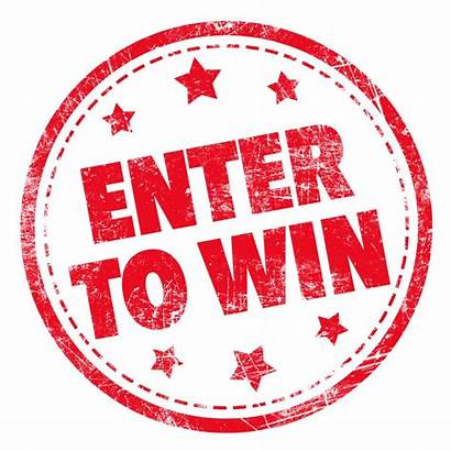 Win Enter Prize Draw Monthly Stamp Text