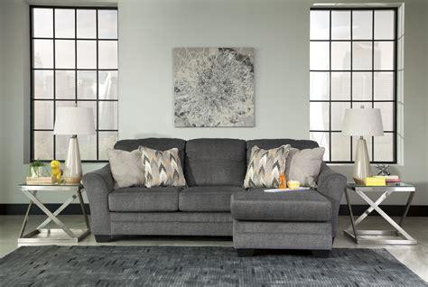 braxlin charcoal sofa  chaise marjen  chicago