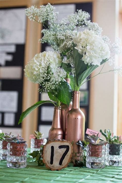 100 country rustic wedding centerpiece ideas page 13