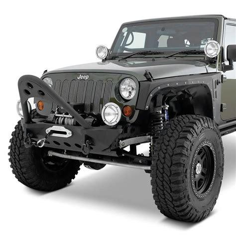 jeep winch bumper smittybilt jeep wrangler 2013 src stubby black front