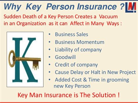 Taking out a key person policy on your top employees also affirms their value to your business, strengthening the relationship. Key person insurance