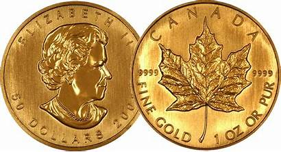 Coin Sides Gold Coins Canadian Same Maple