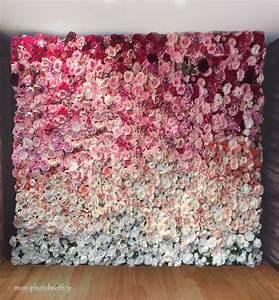 Mur De Fleurs : location mur de fleurs pour mariage lyon mon photobooth ~ Farleysfitness.com Idées de Décoration