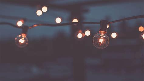 Lights Outdoor Wallpaper by Bokeh Light Bulbs Wallpaper Meh Ro