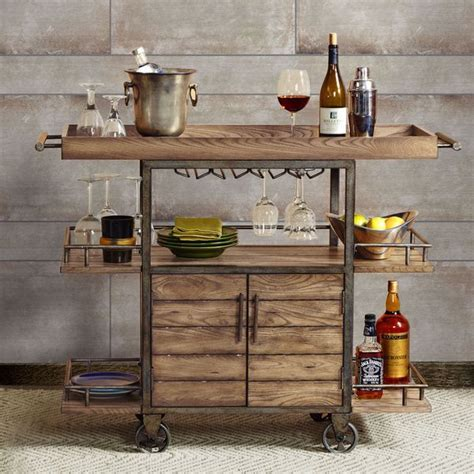 Best 25  Rustic bar carts ideas on Pinterest   Bar cart