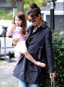 baby ballerina suri cruise is tutu as takes to class daily mail