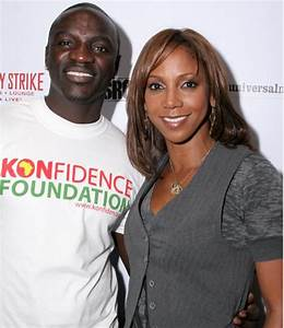 A CHARITABLE FAMILY AFFAIR WITH HOLLY,AKON,KEISHA ...