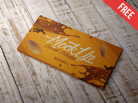 The biggest source of free chocolate bars mockups! 30+ Sweet Chocolate Bar Packaging Mockup Templates PSD ...