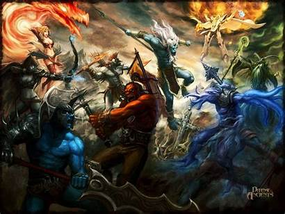 Warcraft Wallpapers Dota Blizzard