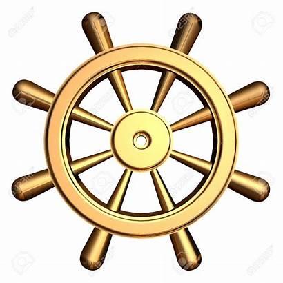 Wheel Ship Steering Boat Clipart Clip Ships