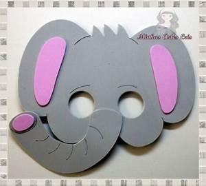 Mascaras en foami de elefante Imagui elefantes Pinterest Elefantes, Mascaras y Máscaras