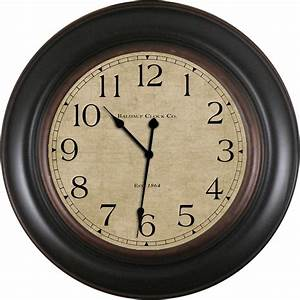 Shop allen + roth Analog Round Indoor Wall Clock at Lowes.com