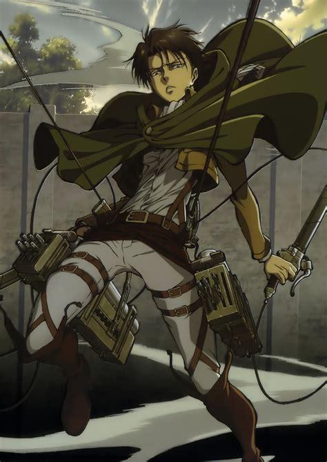 levi ackerman titan attack official zerochan anime kyojin shingeki