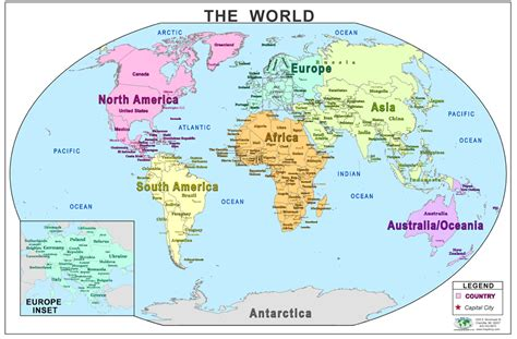 the whole map of the world aouo