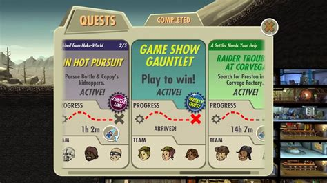 Fallout Shelter Game Show Gauntlet YouTube