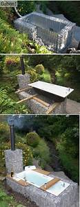 Badewanne Outdoor Garten : die besten 17 ideen zu badewanne selber bauen auf pinterest outdoor badewanne gabionen selber ~ Sanjose-hotels-ca.com Haus und Dekorationen