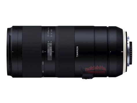 of tamron 70 210 mm f4 di vc usd lens leaked lens rumors