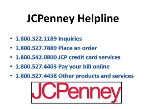 jcpenney phone number jcpenney customer service phone number