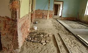 Rekonstrukce starého domu postup