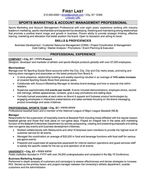 sports resume template sports and coaching resume sle professional resume exles topresume