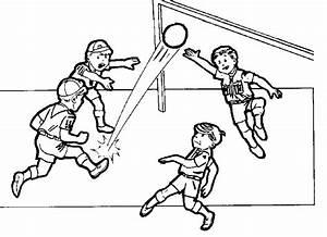 Playing Football Drawing