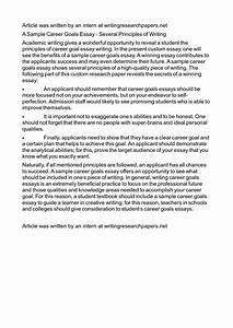 Thesis Statement For Argumentative Essay Sample Scholarship Essay About Career Goals Examples What Is The Thesis In An Essay also Research Essay Proposal Sample Essay About Career Goals Development Of Research Proposal Essay On  Friendship Essay In English