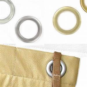Anneaux Rideaux à Clipser : anneau fonctionnel pour sacs et rideaux ~ Premium-room.com Idées de Décoration
