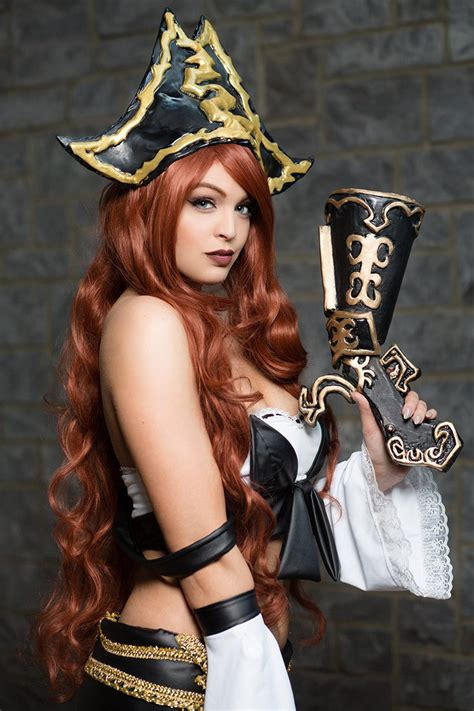 Miss Fortune League Of Legends Cosplay By Danielledenicola