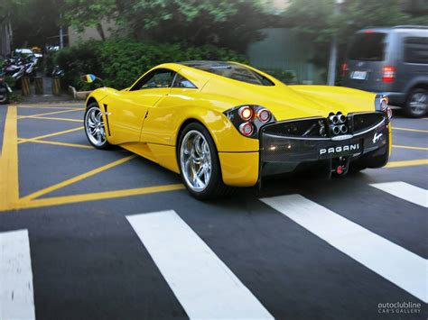 old pagani pagani huayra yellow www pixshark com images galleries