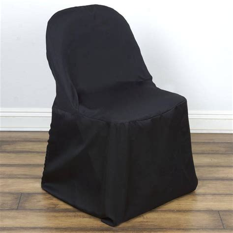 black folding chair cover efavormart