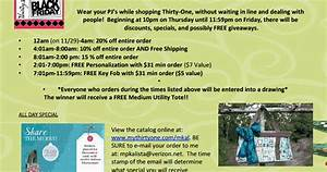 Boutique Black Friday Deals: Thirty-One