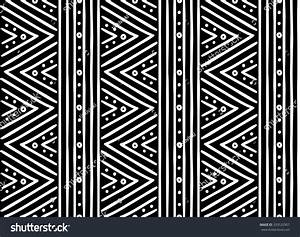 Tribal Ethnic Seamless African Pattern Vector Stock Vector ...